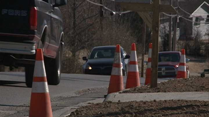 One busy street will have lane closures starting Monday. But residents in the area we spoke with said they're okay with the inconvenience since it will keep the road safer for pedestrians and bikers once construction is finished.