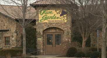 #3 Olive Garden brought in $36,081.02