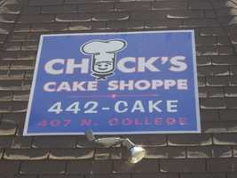 Chuck's Cake Shoppe: Fayetteville