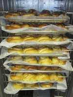 The Crumpet Tea Room Express in Bentonville: Orange Rolls