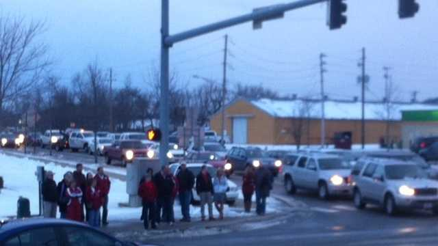 Campus events cause traffic snarl