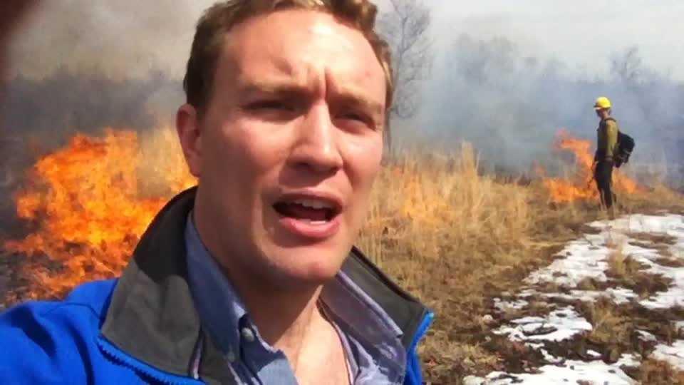 Lake Fayetteville Precribed Burn