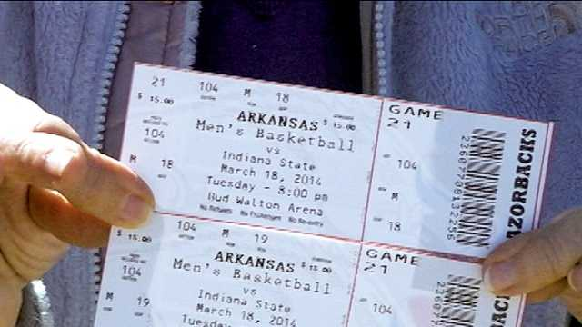 Tickets available for Razorbacks' first-round NIT game