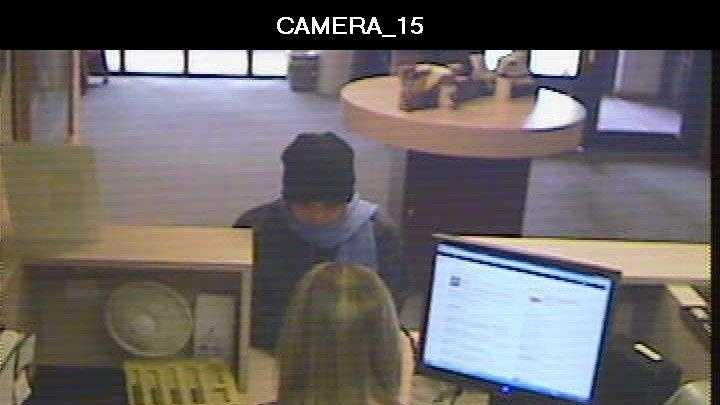 Bank robbery robber
