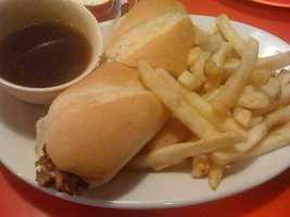 French Dip and Fries