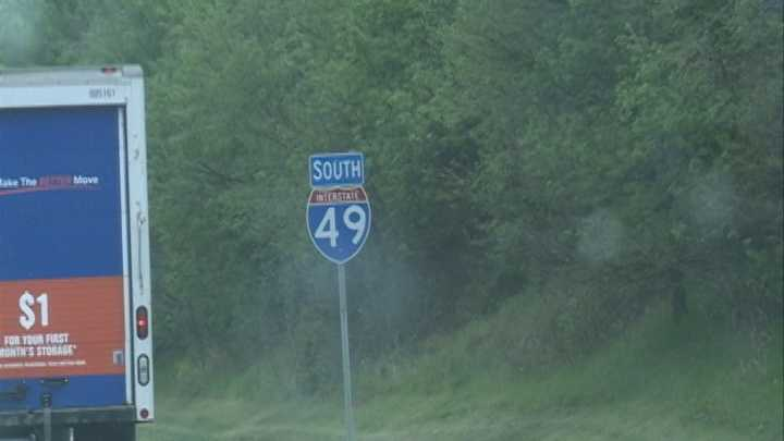 While some GPS maps updated with the new Interstate 49 name Thursday, many maps still show the Interstate 540 designation.