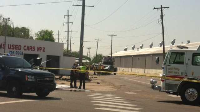 Kelley Highway Accident Scene