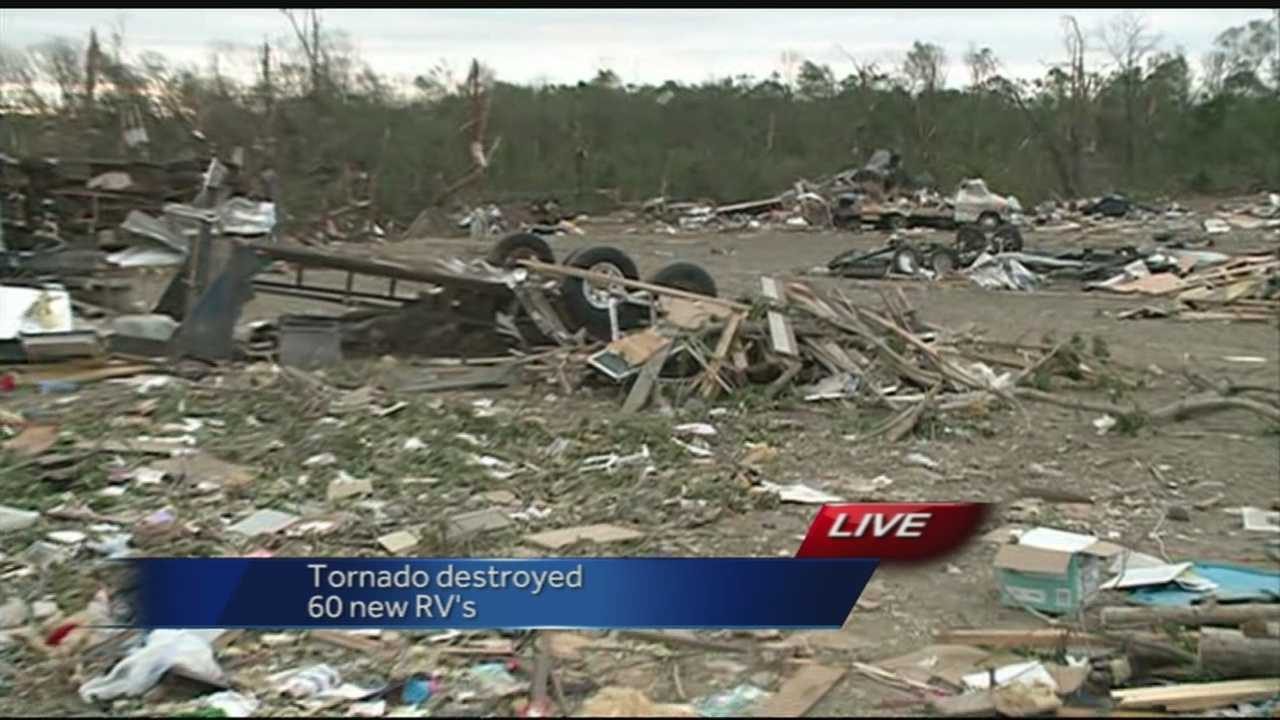 40/29 brings you team coverage of Tornado cleanup efforts in Central Arkansas