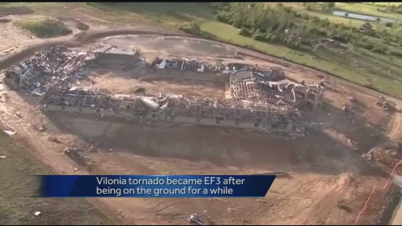 EF-4 Arkansas tornado was on the ground for an hour