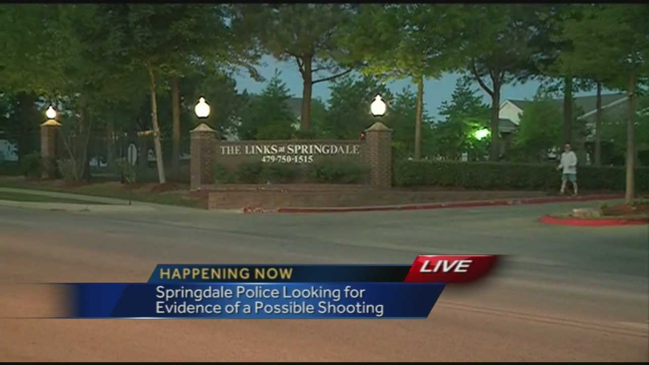 Springdale Police Investigating Shooting Report