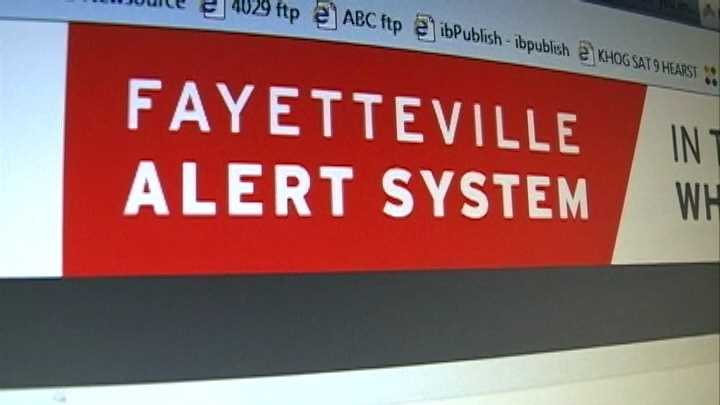 Fayetteville provides weather warnings, no shelters