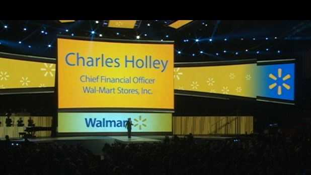 CFO talks business at the Wal-Mart shareholders meeting