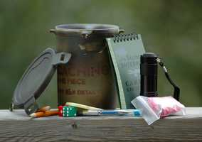 Geocaching:Geocaching is a treasure hunt where participants use a GPS device to find hidden containers, many of which are hidden in Arkansas's state parks.