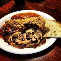 Khan's Grill-Bentonville-Gyro Plate
