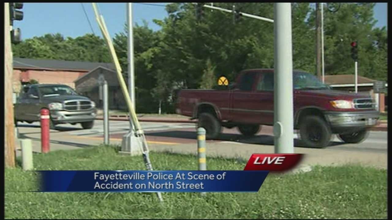 Bicyclist hit by car in Fayetteville