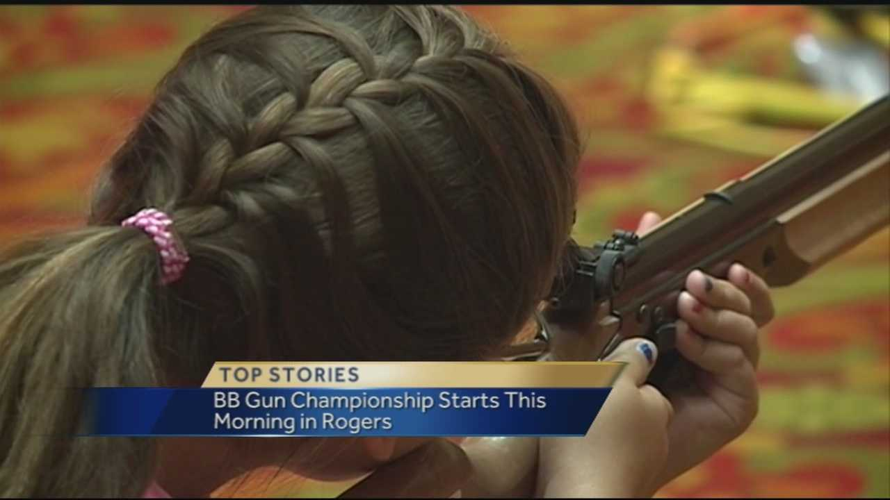 40/29's Ugochi Iloka gives us an inside look into the 49th Annual Daisy National BB Gun Championship
