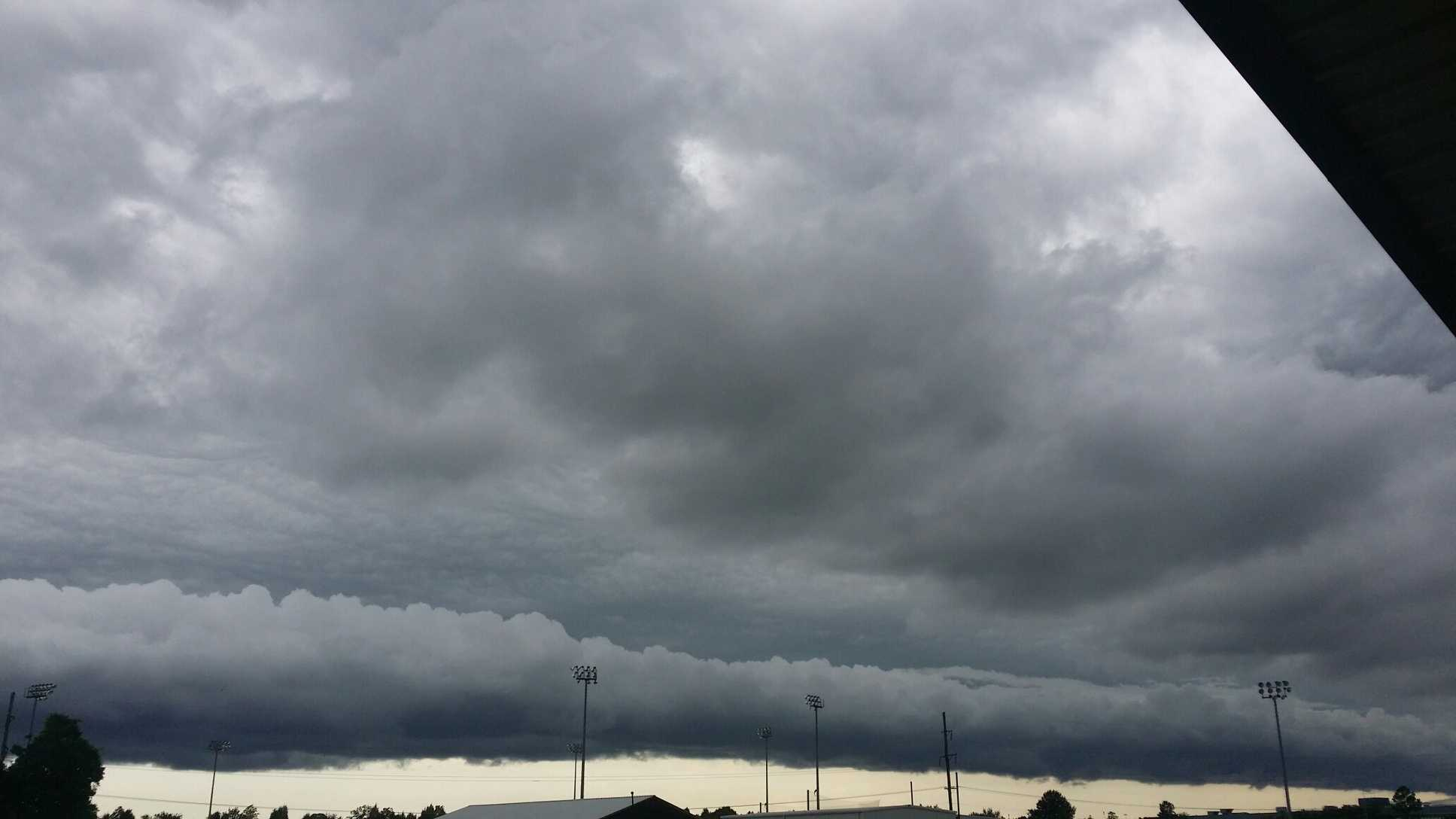 Photo taken by Jeremy Medlock in Fort Smith, AR.
