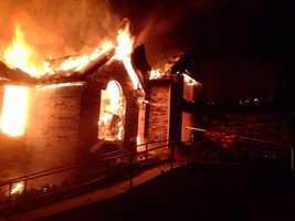 Fire in Bella Vista