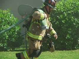 Fire in Fayetteville