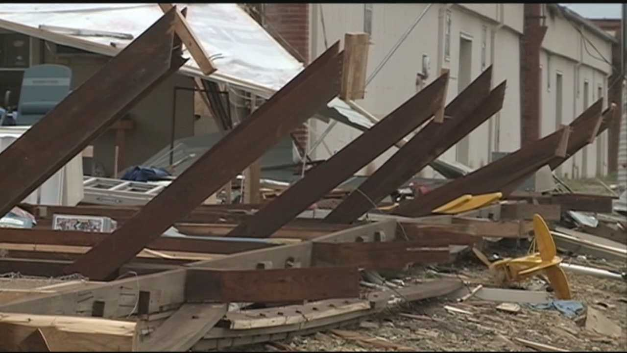 Chaffee Crossing damage may be from possible 'gustnado'