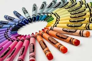 Crayola crayons come in 120 colors, including 23 reds, 20 greens, 19 blues, 16 purples, 14 oranges, 11 browns, 8 yellows, 2 grays, 2 coppers, 2 blacks, 1 white, 1 gold and 1 silver.