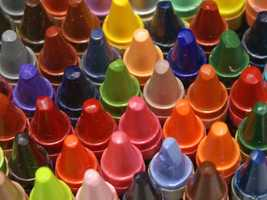 The crayon ranks #18 on a list of most recognizable scents, according to a study done by Yale University.