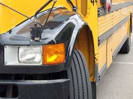 """School buses are yellow because the color attracts attention faster than any other color. In scientific terms, """"Lateral peripheral vision for detecting yellows is 1.24 times greater than for red."""""""