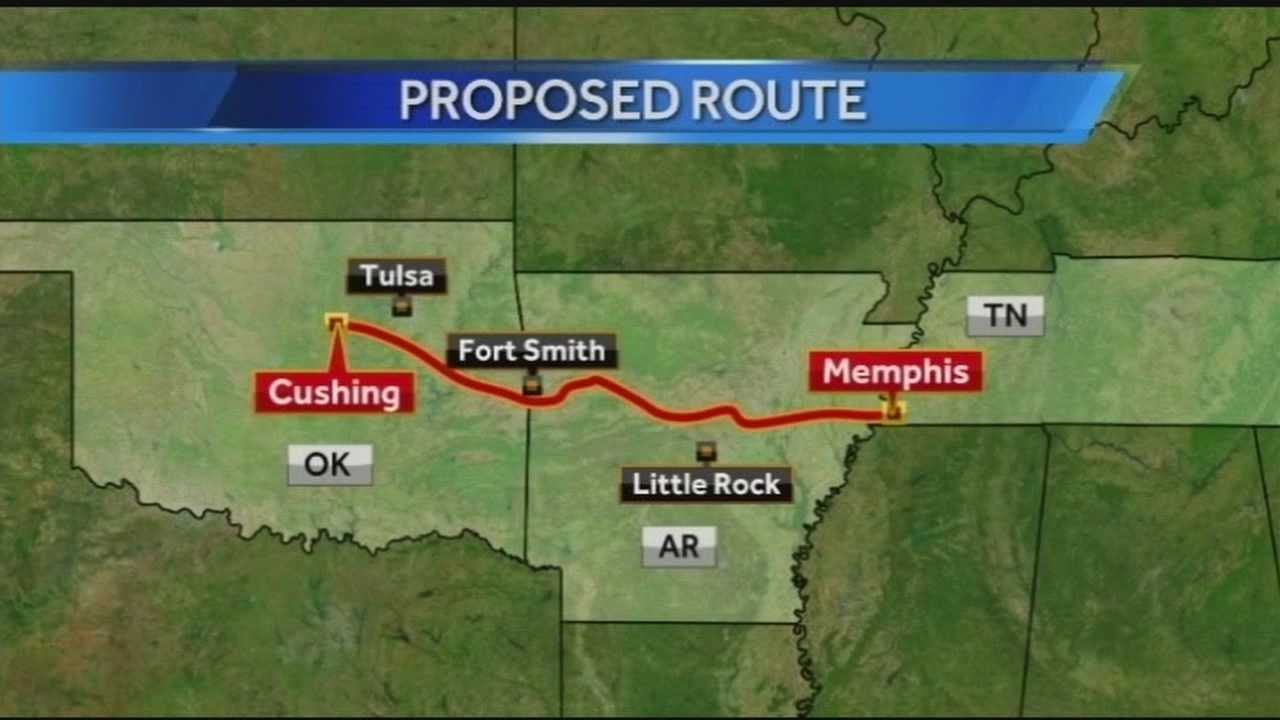 New oil pipeline to run near Fort Smith