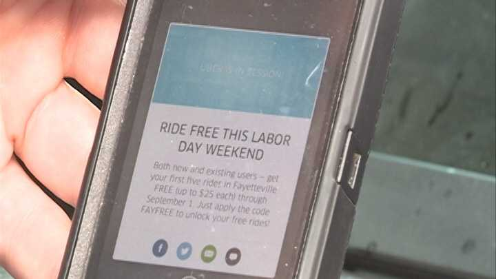 Fayetteville city officials concerned about Uber operations