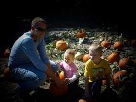 By C.shoup47: Our trip to the pumpkin patch. Love spending time with daddy!