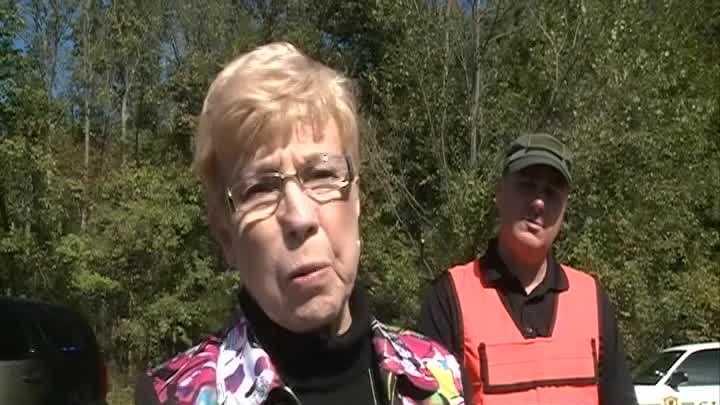 RAW: Train derailment damage and interview