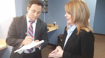 40/29 Anchor Daniel Armbruster with political expert Dr. Karen Sebold with the University of Arkansas.