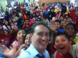 I've done a number of school talks about severe weather.The kids are always fun!!