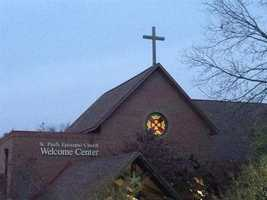 It's cold, but St. Paul's Episcopal in Fayetteville is open Sunday morning.