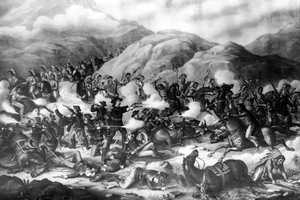 Great Sioux War of 1876 (1876-1877) against the Lakota, Northern Cheyenne and Arapaho.