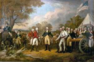 Revolutionary War (1775-1783 against Great Britain, German Auxiliaries, the Iroquois, Onondaga, Mohawk, Cayuga, Seneca and Cherokee.
