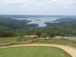Covering sports is how I make a living. Playing golf is how I love to live. This view makes me want to tee it up. Tee box at Top of the Rock in Branson. Enjoy!