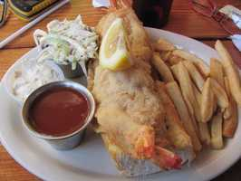 """Eat seafood. You're in Louisiana, so you know you have to. Herby-K's is 2 miles away from Independence Stadium, and it's famous for its """"Shrimp Busters."""""""