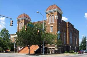 Visit the 16th Street Baptist Church. The church was bombed by racists in 1963 and four girls were killed. The church is still operating, and has an exhibit about the bombing in the basement.