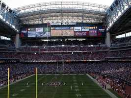 NRG Stadium was the first in the NFL to have a retractable roof. It will host Super Bowl LI in 2017.