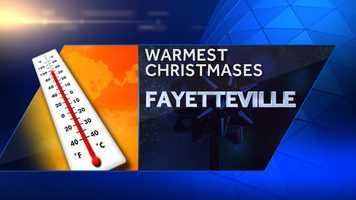 We could be in for a warm December this year. Click through to see the hottest Christmas Days in Fayetteville's history, according to the National Weather Service.