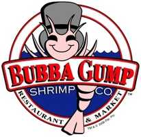 Eat at Bubba Gump. The Bubba Gump Shrimp Company's world headquarters is in Houston. It's Houston location is on the boardwalk.