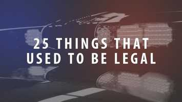9) 25 Things that used to be legalDid you know that smoking on a plane, child labor and heroin were once legal?