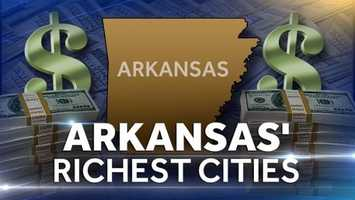 8) City by City: Average household income in ArkansasThis a listing of the average household income in Arkansas, city by city.