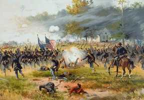 24) American Civil War (1861-1865): 670,000 to 850,000 killed.