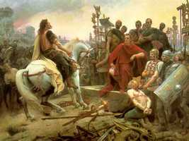 21) Gallic Wars in France (58 BCE to 50 BCE): 900,000 to 1 million.