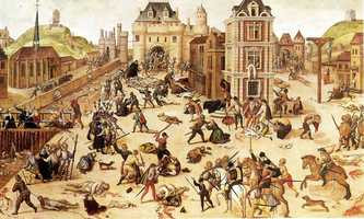 16) French Wars of Religion (1562-1598): 2 million to 4 million killed.