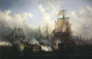 11) Napoleonic Wars in Europe and the Atlantic, Indian and Pacific Oceans (1803-1815): 3.5 million to 7 million killed