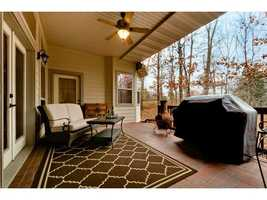 The home has both a deck and a patio.