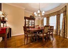 It main levels includes this formal dining room.